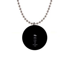Keep Calm And Carry On My Wayward Son Button Necklaces