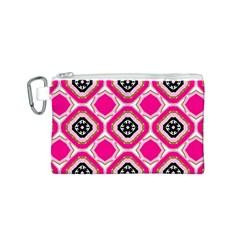 Cute Pretty Elegant Pattern Canvas Cosmetic Bag (S)