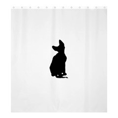 Cornish Rex Silo Shower Curtain 66  x 72  (Large)