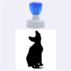 Cornish Rex Silo Rubber Round Stamps (Large)