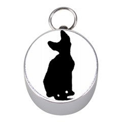 Cornish Rex Silo Mini Silver Compasses
