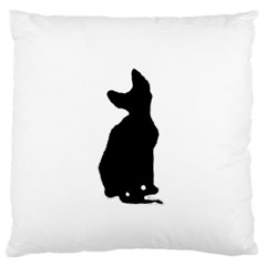Cornish Rex Silo Standard Flano Cushion Cases (Two Sides)