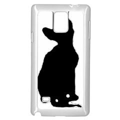 Cornish Rex Silo Samsung Galaxy Note 4 Case (White)