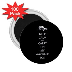 Carry On Centered 2 25  Magnets (100 Pack)