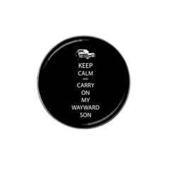Carry On Centered Hat Clip Ball Marker (4 Pack)