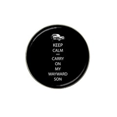 Keep Calm And Carry On My Wayward Son Golf Ball Marker 10 Pack (for Hat Clip)
