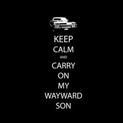 Keep Calm and Carry On My Wayward Son Magic Cube
