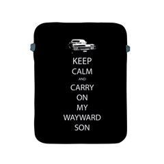 Carry On Centered Apple Ipad 2/3/4 Protective Soft Cases