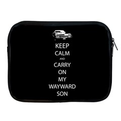 Carry On Centered Apple Ipad 2/3/4 Zipper Cases