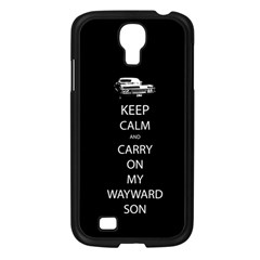 Carry On Centered Samsung Galaxy S4 I9500/ I9505 Case (black)