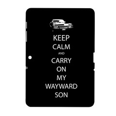 Carry On Centered Samsung Galaxy Tab 2 (10 1 ) P5100 Hardshell Case