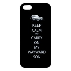 Carry On Centered Iphone 5s Premium Hardshell Case