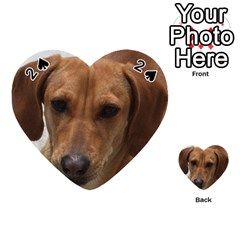 Dachshund Playing Cards 54 (Heart)