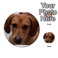 Dachshund Multi-purpose Cards (Round)