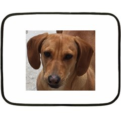 Dachshund Fleece Blanket (Mini)