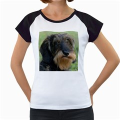 Wirehaired Dachshund Women s Cap Sleeve T