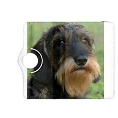 Wirehaired Dachshund Kindle Fire HDX 8.9  Flip 360 Case