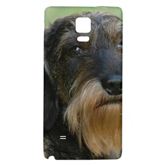 Wirehaired Dachshund Galaxy Note 4 Back Case