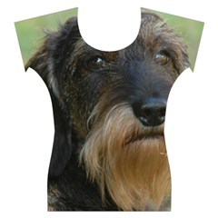 Wirehaired Dachshund Women s Cap Sleeve Top