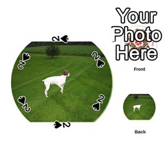 German Shorthair Pointer Full Playing Cards 54 (Round)