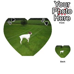 German Shorthair Pointer Full Playing Cards 54 (Heart)