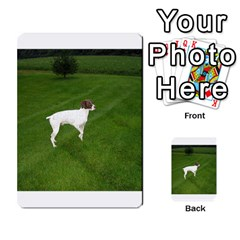 German Shorthair Pointer Full Multi Purpose Cards (rectangle)