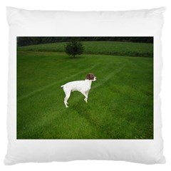 German Shorthair Pointer Full Standard Flano Cushion Cases (Two Sides)