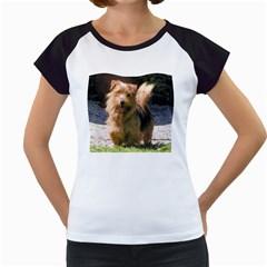 Norfolk Terrier Full Women s Cap Sleeve T