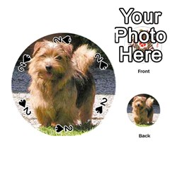 Norfolk Terrier Full Playing Cards 54 (Round)
