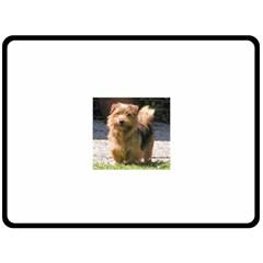 Norfolk Terrier Full Fleece Blanket (Large)