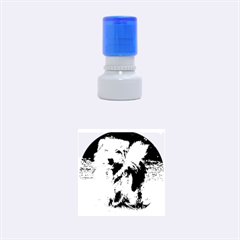 Norfolk Terrier Full Rubber Round Stamps (Small)
