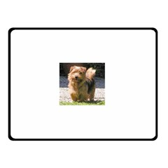 Norfolk Terrier Full Double Sided Fleece Blanket (Small)