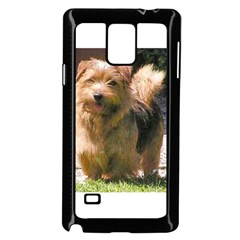 Norfolk Terrier Full Samsung Galaxy Note 4 Case (Black)