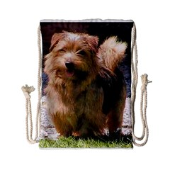Norfolk Terrier Full Drawstring Bag (Small)