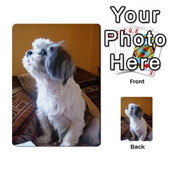 Shih Tzu Sitting Multi-purpose Cards (Rectangle)