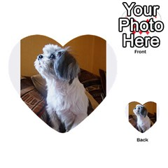 Shih Tzu Sitting Multi-purpose Cards (Heart)