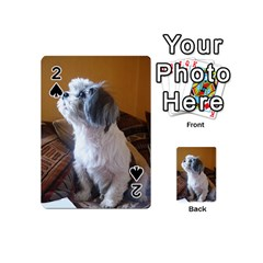Shih Tzu Sitting Playing Cards 54 (Mini)