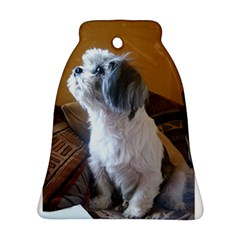 Shih Tzu Sitting Ornament (Bell)