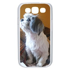 Shih Tzu Sitting Samsung Galaxy S III Case (White)