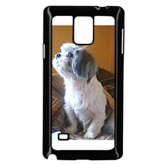 Shih Tzu Sitting Samsung Galaxy Note 4 Case (Black)