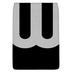 Black Grey Abstract  Flap Covers (l)