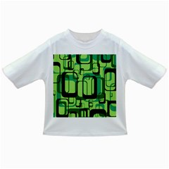 Retro Pattern 1971 Green Infant/Toddler T-Shirts
