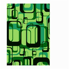 Retro Pattern 1971 Green Small Garden Flag (Two Sides)