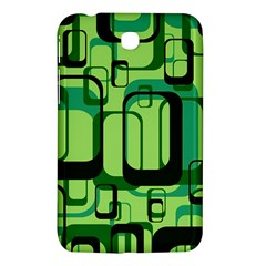 Retro Pattern 1971 Green Samsung Galaxy Tab 3 (7 ) P3200 Hardshell Case