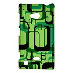 Retro Pattern 1971 Green Nokia Lumia 720