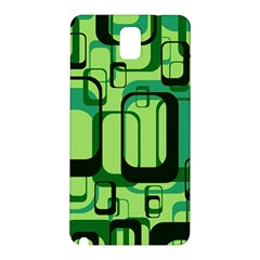 Retro Pattern 1971 Green Samsung Galaxy Note 3 N9005 Hardshell Back Case