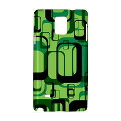 Retro Pattern 1971 Green Samsung Galaxy Note 4 Hardshell Case