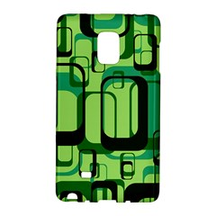 Retro Pattern 1971 Green Galaxy Note Edge
