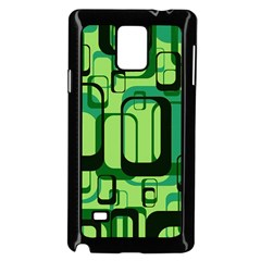 Retro Pattern 1971 Green Samsung Galaxy Note 4 Case (Black)