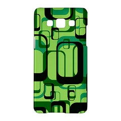 Retro Pattern 1971 Green Samsung Galaxy A5 Hardshell Case